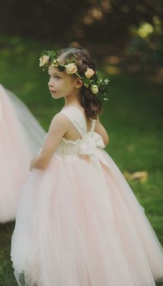 e23c863f829 Fanciful Flower Girls ❀ dresses  amp  hair accessories for the littlest  wedding attendant