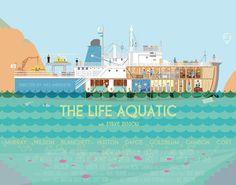 The Life Aquatic Stretched Canvas