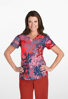 1000 Images About Grey S Anatomy Print Scrub Tops On