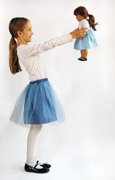 Onstage Tutu Skirt | Free Sewing Patterns | Oliver + S (pattern downloaded in Dropbox)