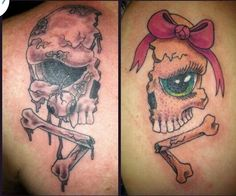 Couples tattoo ....I♡U Mr. Reed!