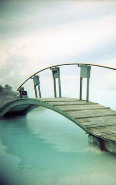 Wooden bridge, Iceland
