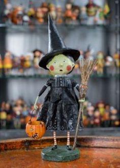 23937 Wicked Witch Figurine Lori Mitchell Halloween Trick or Treat Wizard of Oz  #LoriMitchell