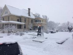 A snowy day at Banting House!