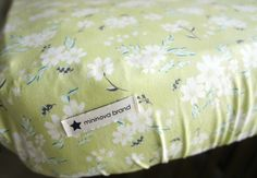 Crib Sheet // Ivory & Fresh Melon Floral // Daisies // Nursery // Toddler's Room //Gender Neutral // Statement Bedding by MininovaBrand on Etsy https://www.etsy.com/listing/252236211/crib-sheet-ivory-fresh-melon-floral