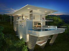 Villa II Panoramic Final Ocean Viewa • By Victor Cañas