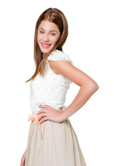 Violetta also called vlo. She is super pretty soooo write for tomas