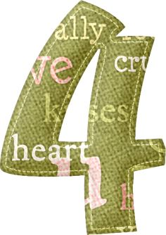 Green road nº 4 Decoupage, Alphabet And Numbers, Clipart, Monogram, Letters, Valentines, Green, Alphabet, Card Designs