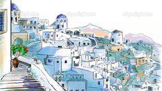 desenho sobre a grecia - Pesquisa Google