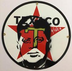 JFK Texaco Oil Sign