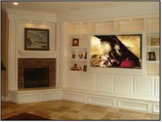 Corner+Fireplaces+With+Entertainment+Center   corner fireplace entertainment center art white wall   Fireplaces