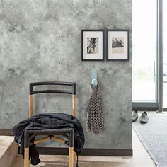 Eco Wallpaper Stonewall Grey Mural extra image