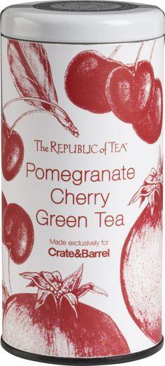 the republic tea | The Republic of Tea® Pomegranate Cherry Green Tea in Cocktails ...