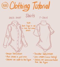 Dialoge - Draw Tutorial - tips tips closet tips for clothes tips for travel Drawing Techniques, Drawing Tutorials, Drawing Tips, Art Tutorials, Drawing Ideas, Drawing Hands, Birthday Drawing, Draw Tutorial, Shirt Tutorial