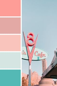 Makes me think of milkshakes and icecream :) This would be gorgeous color palette for a coming-of-age kind of novel Beach Color Palettes, Vintage Colour Palette, Color Schemes Colour Palettes, Spring Color Palette, Pastel Colour Palette, Colour Pallette, Vintage Colors, Spring Colors, Bright Color Schemes