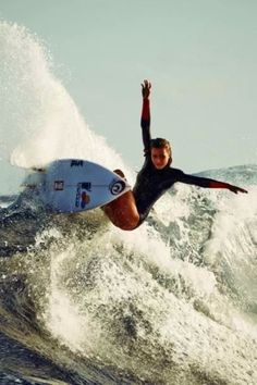 I really look up to Alana Blanchard and Bethany Hamilton. After seeing Soul Surfer I definitely wanted to surf, like most people. :)