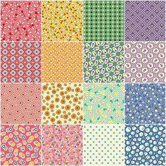 "Aunt Grace - Simpler Sampler 2.5"" Strips - Judie Rothermel - Marcus Fabrics -Kathy H"