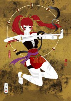 雷神(Raijin)/ Illustration bAbycAt