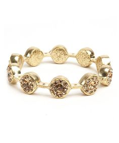 Gold Sparkle Marquise Bangle | Daily deals for moms, babies and kids