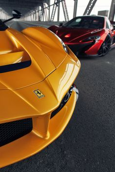 LaFerrari and P1. 2 of the best production cars ever.