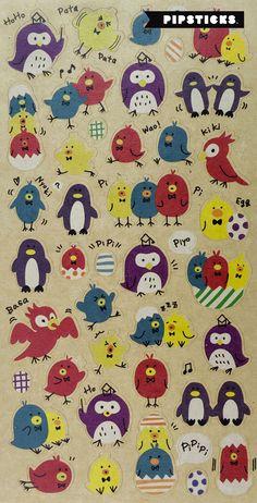 CUTE GIRAFFE FELT STICKERS Sheet Animal Raised Fuzzy Craft Scrapbook Sticker
