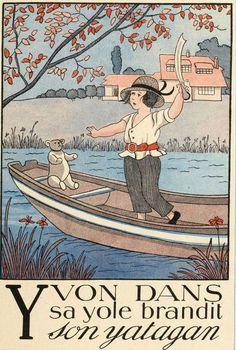 Y.-l'alphabet en images, Marie Madeleine Franc Nohain. Source: gallica.bnf.fr