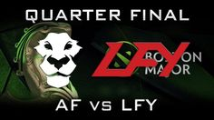 Ad Finem vs LGD.FY Quarter Final Boston Major 2016 Highlights Dota 2