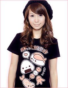 "Super cute! It says ""I love Japanese food"" so true!"