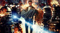 fantasy Art, Doctor Who, Matt Smith, Eleventh Doctor, Karen Gillan, Amy Pond, Daleks Wallpaper