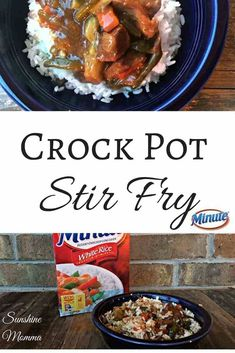 Crock pot stir fry rice in crockpot, crockpot recipes, stir fry crock pot, Crockpot Stir Fry, Rice In Crockpot, Stir Fry Meat, Stir Fry Rice, Veggie Stir Fry, Crock Pot Slow Cooker, Slow Cooker Recipes, Cooking Recipes, Veggie Recipes