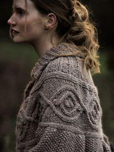 pattern 'Winter Aconite' designed by Marie Wallin for Rowan.