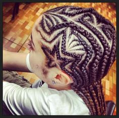 Little girls hair / braids/ protective hairstyle / cornrows / hair designs / braided hair / toddler hair / back to school / black hair