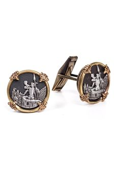 Handmade cufflinks for the stylish partygoer  | Hearts #FairTuesdayGifts