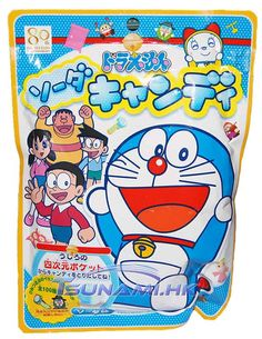 Doraemon & Friends Ramune Soda Candy Balls