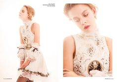 free soul fashion editorial neo baroque dress