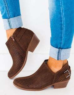 79ea80260fda9 Soleil Mesh Booties Brown. More information. More information. Fresh  designs and chic style define Very Volatile footwear