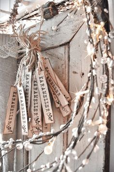 .funky fresh price tag idea!