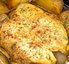 Easy Slow Cooker Country Chicken | Try this for your next weekend dinner menu!