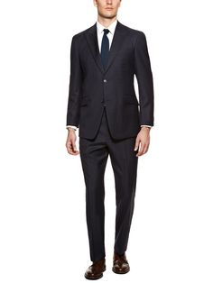 Joseph Windowpane Suit by Tommy Hilfiger Suiting at Gilt