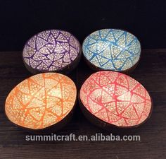 natrual coconut shell bowl