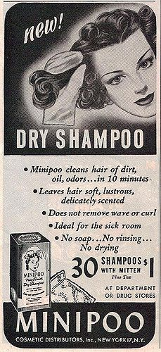 """Ha!! Gee, I wonder why this product didn't stand the test of time? """"Minipoo"""" ... ok I know, I get it ... they mean a mini shampoo, but still! Seriously?"""