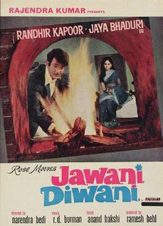 Bollywood Vintage Jawani Diwani, Randhir Kapoor, Bollywood Posters, Vintage Bollywood, Indian Movies, Movie Collection, Movie List, Film Posters, Rare Photos