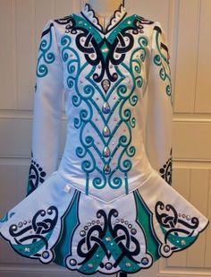 Irish Dance Solo Dress Costume by Prime Dress Design