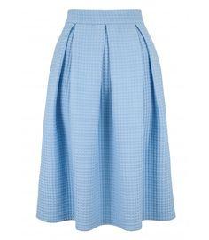 Closet Waffle Textured Skirt