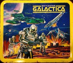 To Make Fridge Magnets Watches Printing Videos Ring Products Code: 6618905440 Battlestar Galactica 1978, Vintage Lunch Boxes, 70s Sci Fi Art, Retro 2, Metal Lunch Box, Geek Art, Futurama, E Bay, Magnets