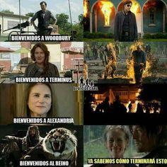 Walking Dead Memes, Fear The Walking Dead, The Walkind Dead, Twd Memes, Star Wars, Marvel, Chandler Riggs, Netflix, Bts