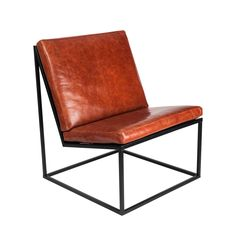 design poltrona ferro e couro - Bing images Black Dining Room Chairs, Scandinavian Dining Chairs, Wayfair Living Room Chairs, Living Room Furniture Layout, Metal Chairs, Diy Interior Furniture, Iron Furniture, Steel Furniture, Sofa Furniture