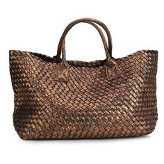 Metallic Woven Tote Bag 16 Colors ($75) ❤ liked on Polyvore featuring bags, handbags, tote bags, tote handbags, tote purses, straw handbags, straw tote and straw purse