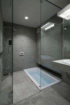 Znalezione obrazy dla zapytania łazienka szara