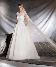 Dreamlike Sweet Pronovias Wedding Bridal Dresses OVEGA 2017